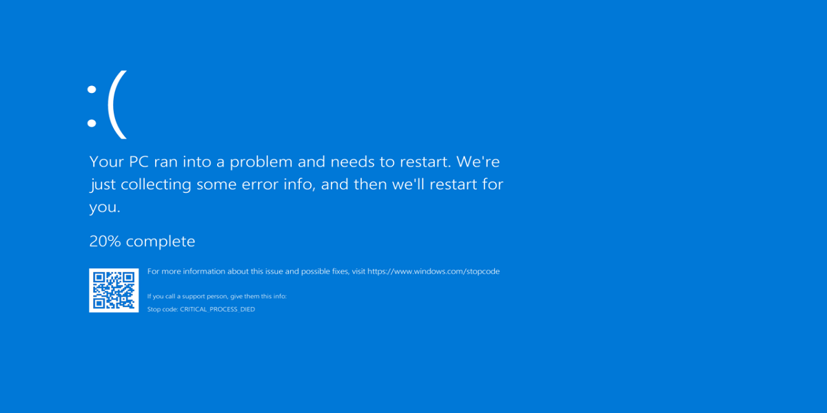 Windows 11's Blue Screen of Death is turning black