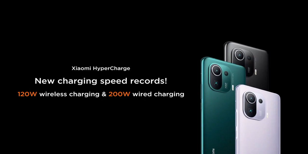 Xiaomi Sets New Charging Records with 200W Wired Charging