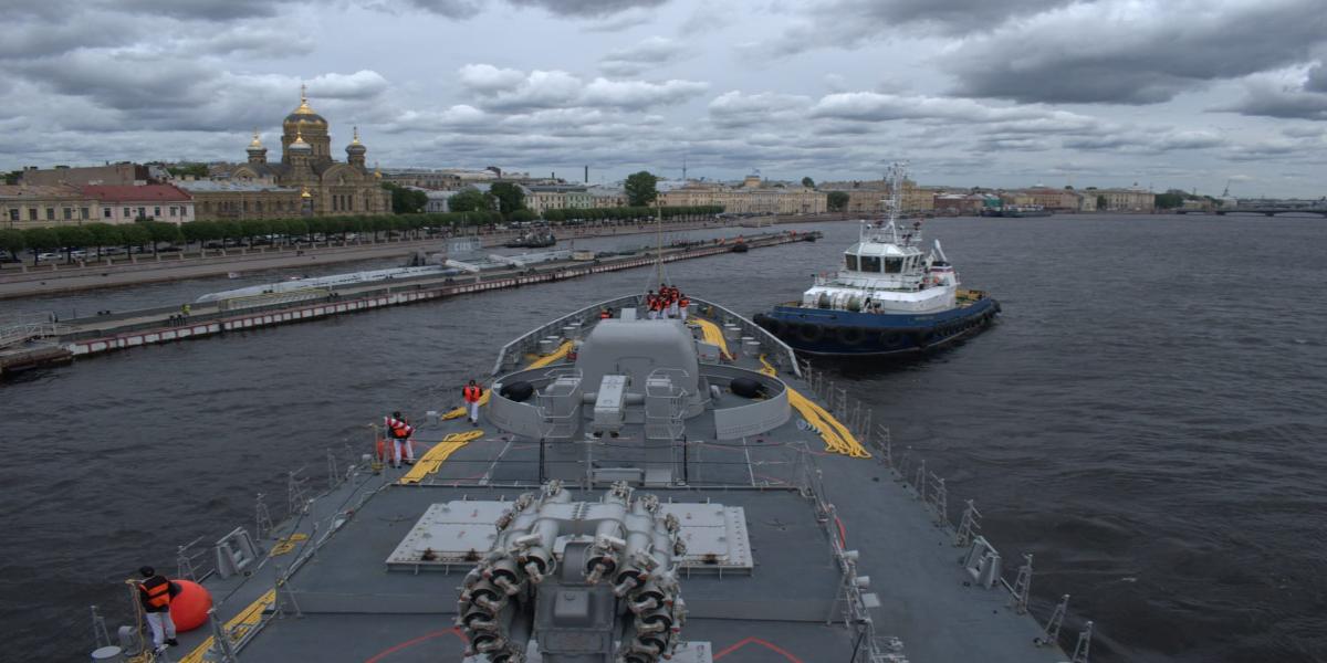 Pakistan Navy Ship Zulfiquar Visits Russia As Part Of Overseas Deployment
