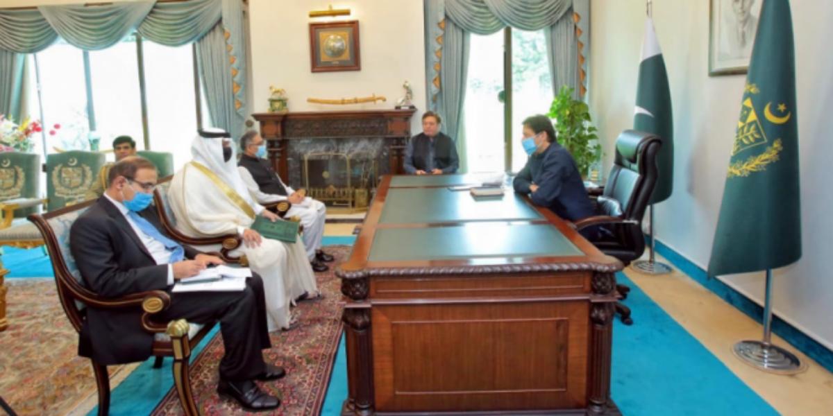 Saudi Arabia Invites PM Imran To Participate In Middle East Green Initiative