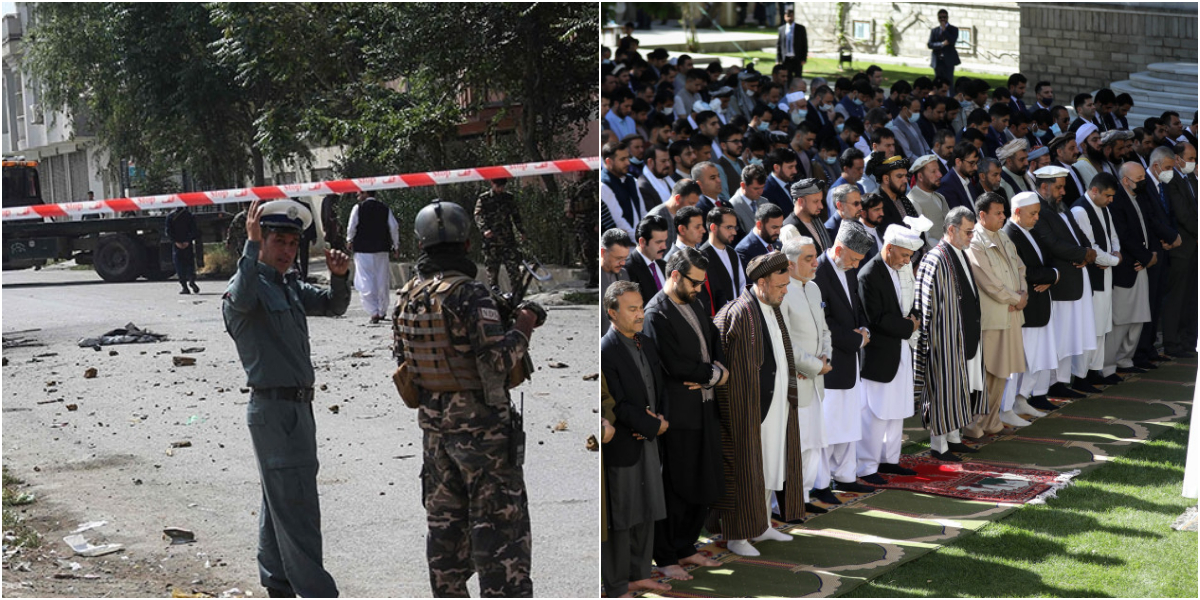 Afghanistan: Rocket Attack Near Afghan Presidential Palace During Eid Prayers