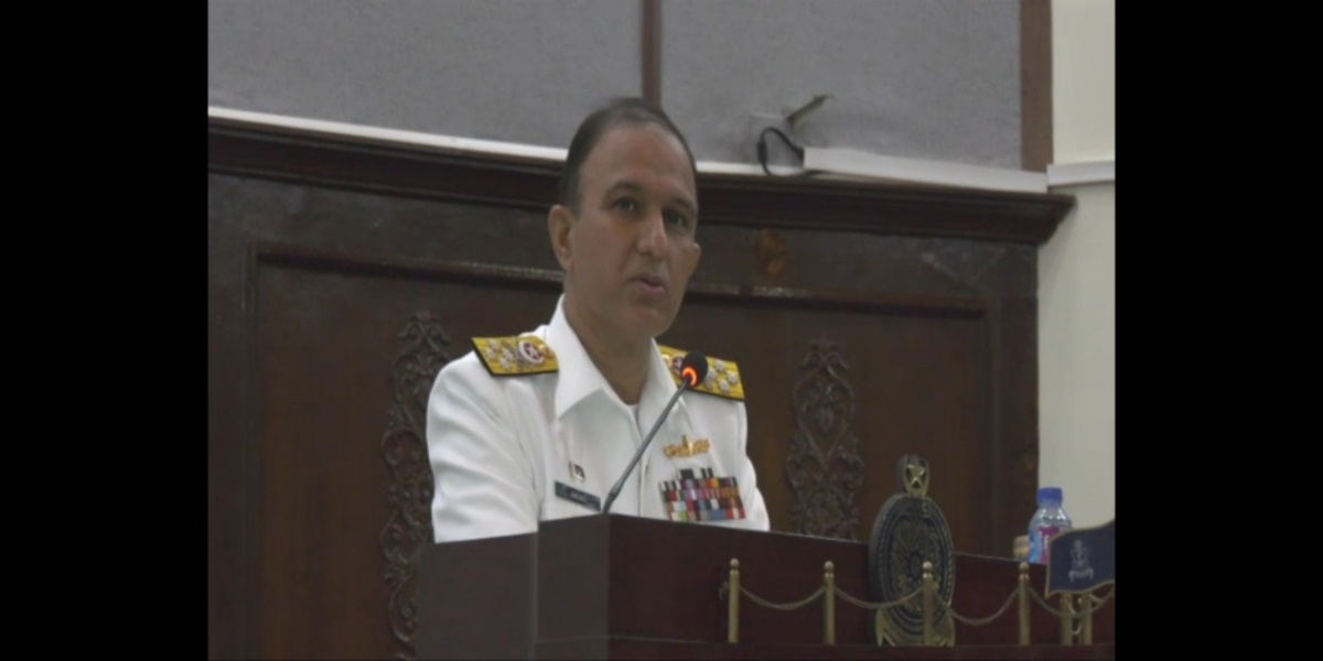 Chief Of Naval Staff Visits Pakistan Navy War College Lahore