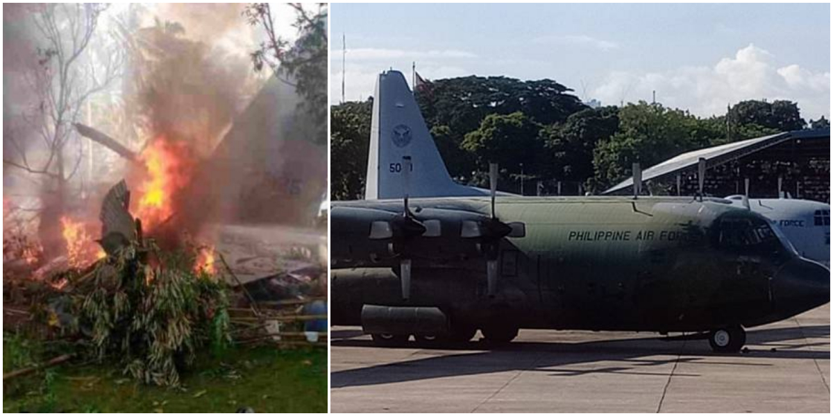 Philippine Military Plane Crashes With 85 On Board, 40 Rescued