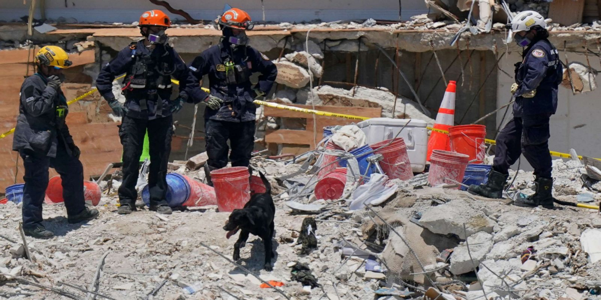 Florida: Building Collapse Death Toll Rises To 24, 121 People Still Missing