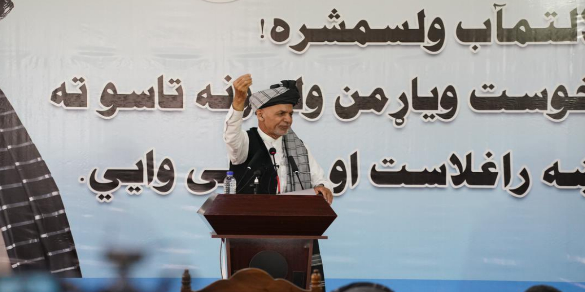 Taliban Must Pledge Not To Accept Durand Line If They Love Afghanistan: Ashraf Ghani