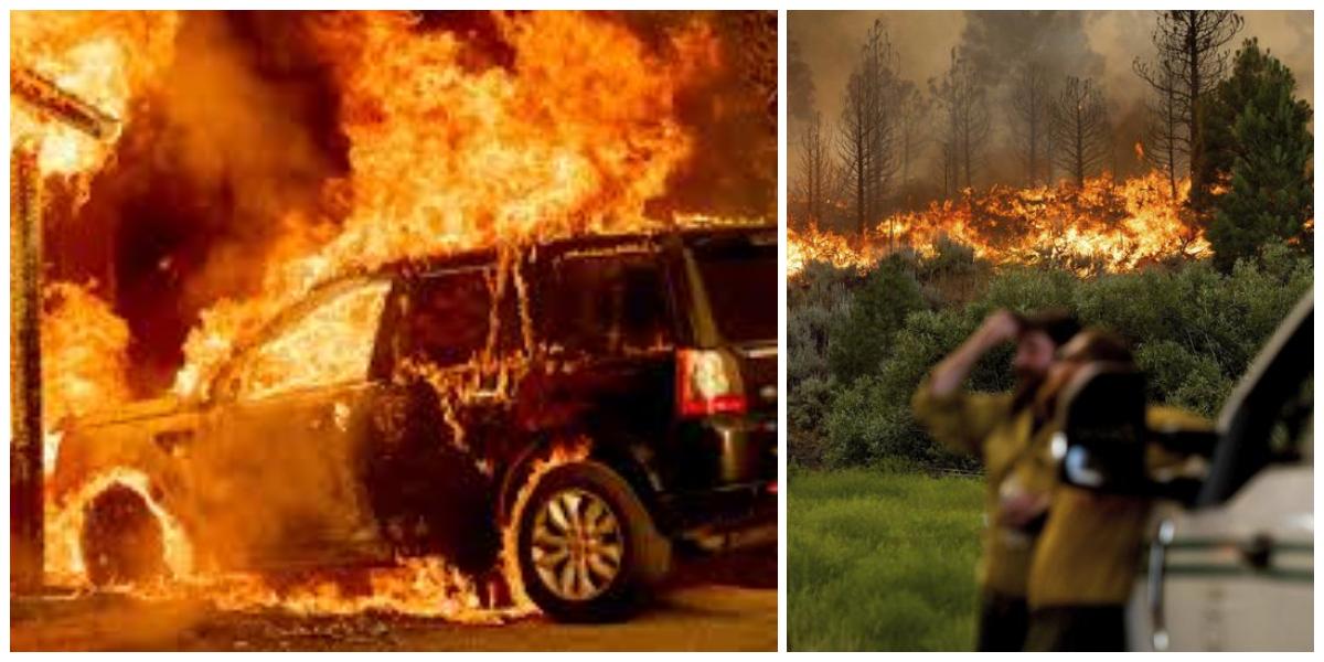 North America Faces Extreme Heatwave, Wildfire Advances