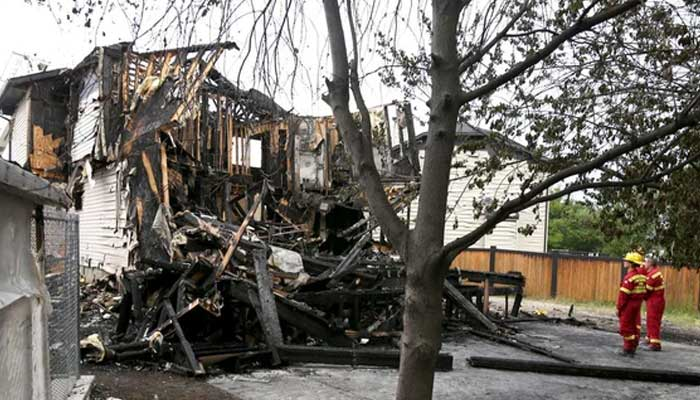 canada house fire