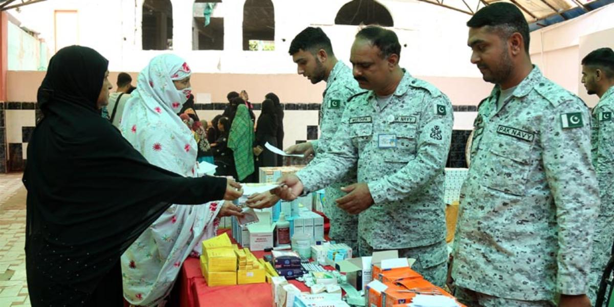Pakistan Navy medical camps