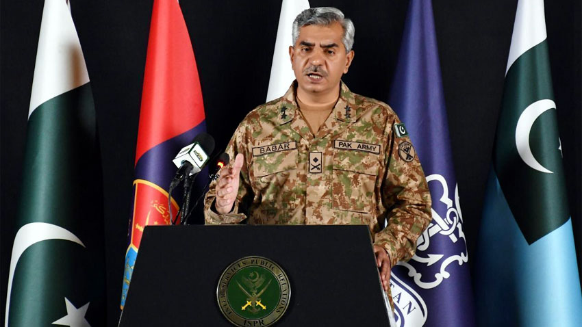 Leading int'l, Indian media outlets propagate Pakistan's intrusion in Afghan internal affairs: DG ISPR