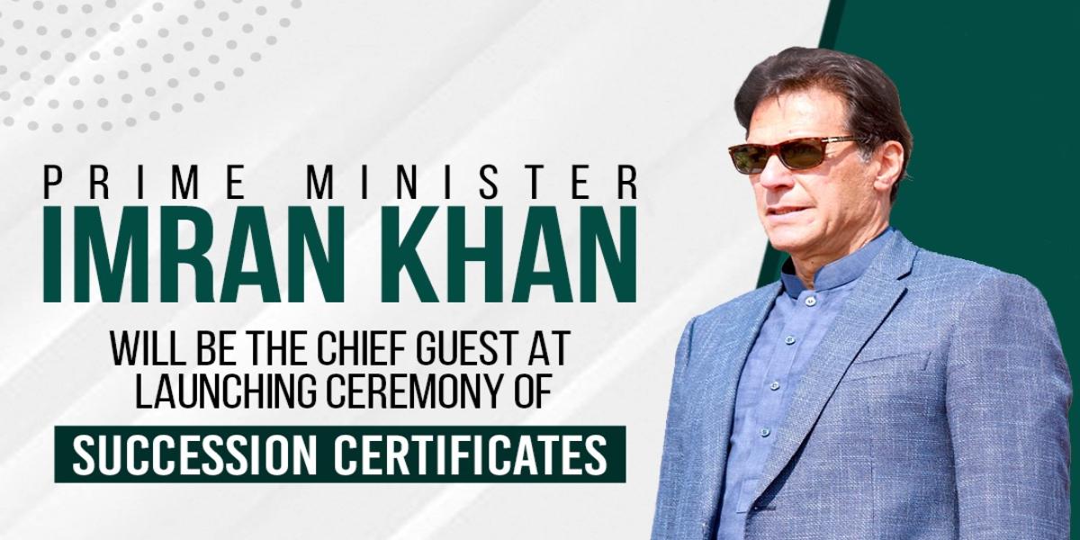 PM Imran succession certificates ceremony