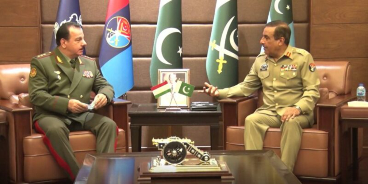 CJCSC Tajikistan defence minister