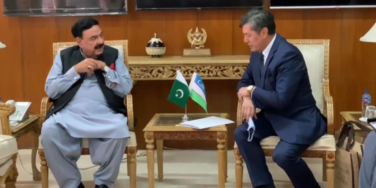 Sheikh Rasheed Uzbek Ambassador