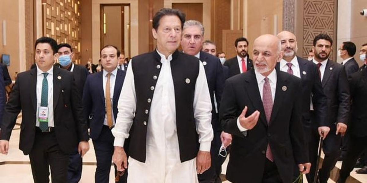Prime Minister Imran Khan Ashraf Ghani
