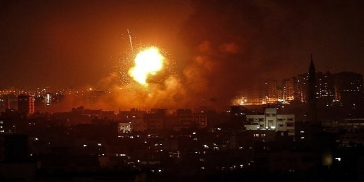 Israel airstrike on Gaza