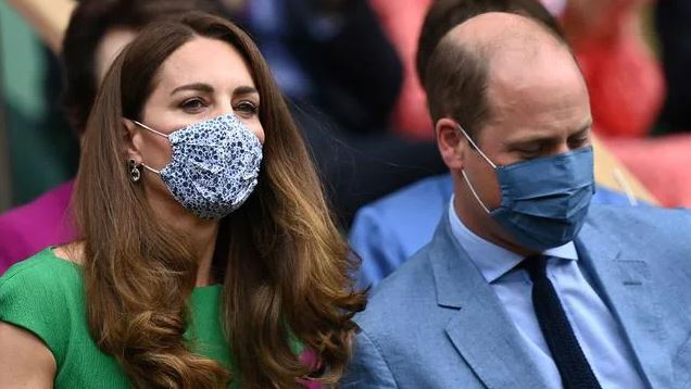 Wimbledon Final Kate Middleton and Prince William