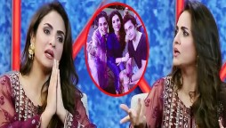Nadia reveals that Meera wanted to make a fake scandal with Ali zafar