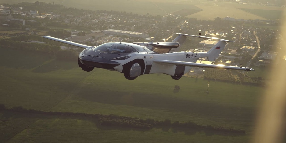 AirCar prototype completes its first ever inter-city flight
