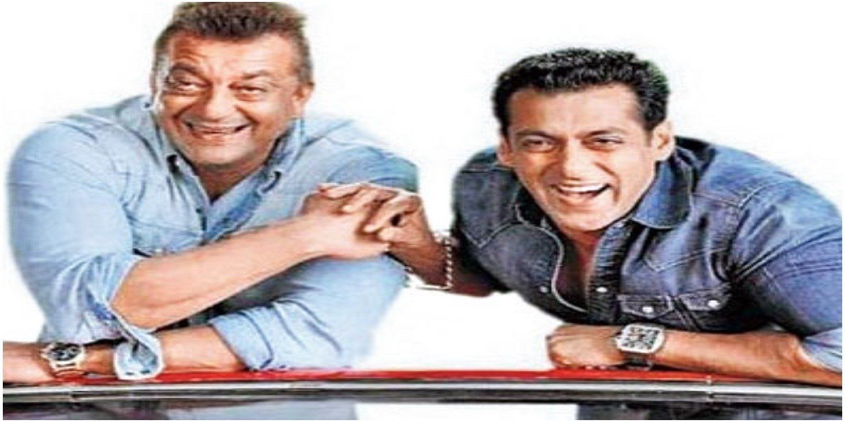 Salman Khan wishes Sanjay Dutt birthday in the form of a throwback photo
