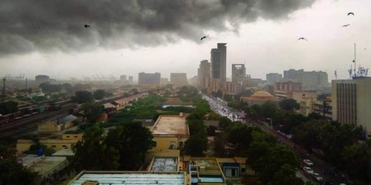 Karachi rain Tuesday