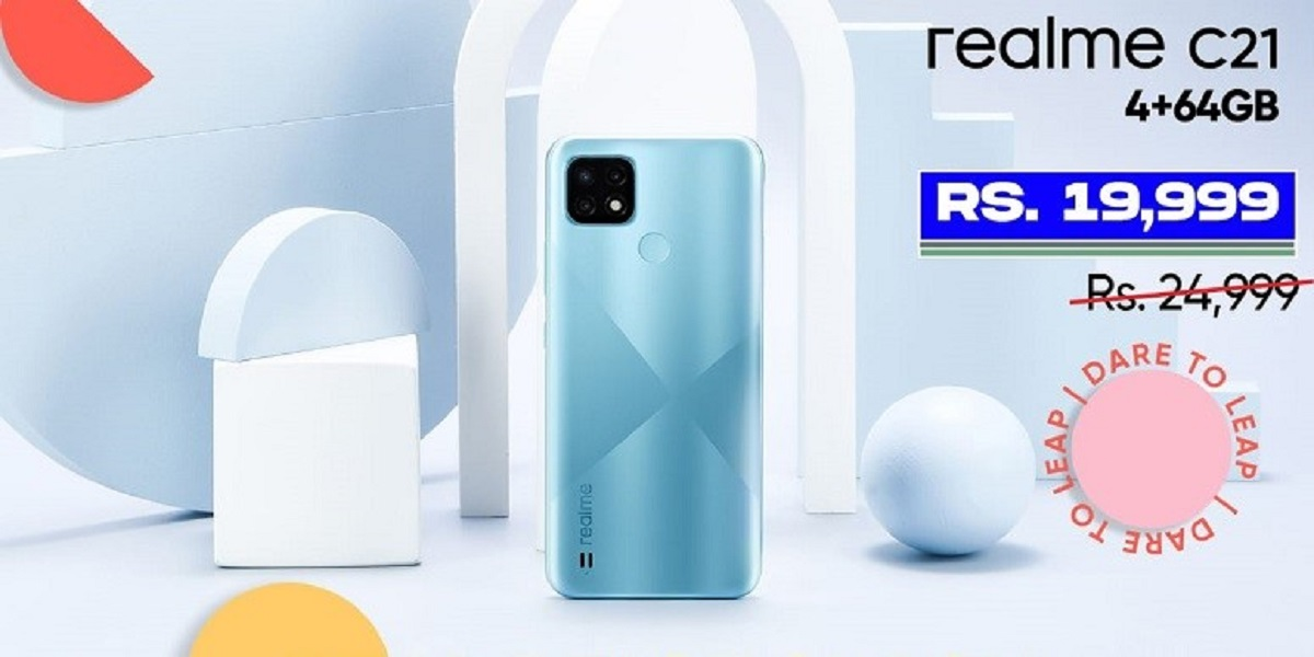 Realme C21 Now at only Rs19,999; A True Value for Money