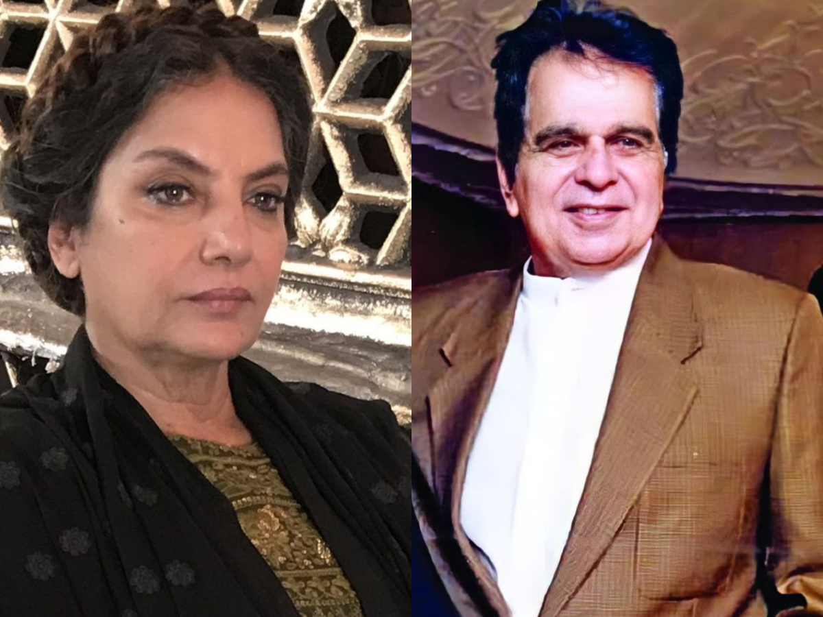 'Thank you for the movies, for the language, for the dignity,' Shabana Azmi says of Dilip Kumar