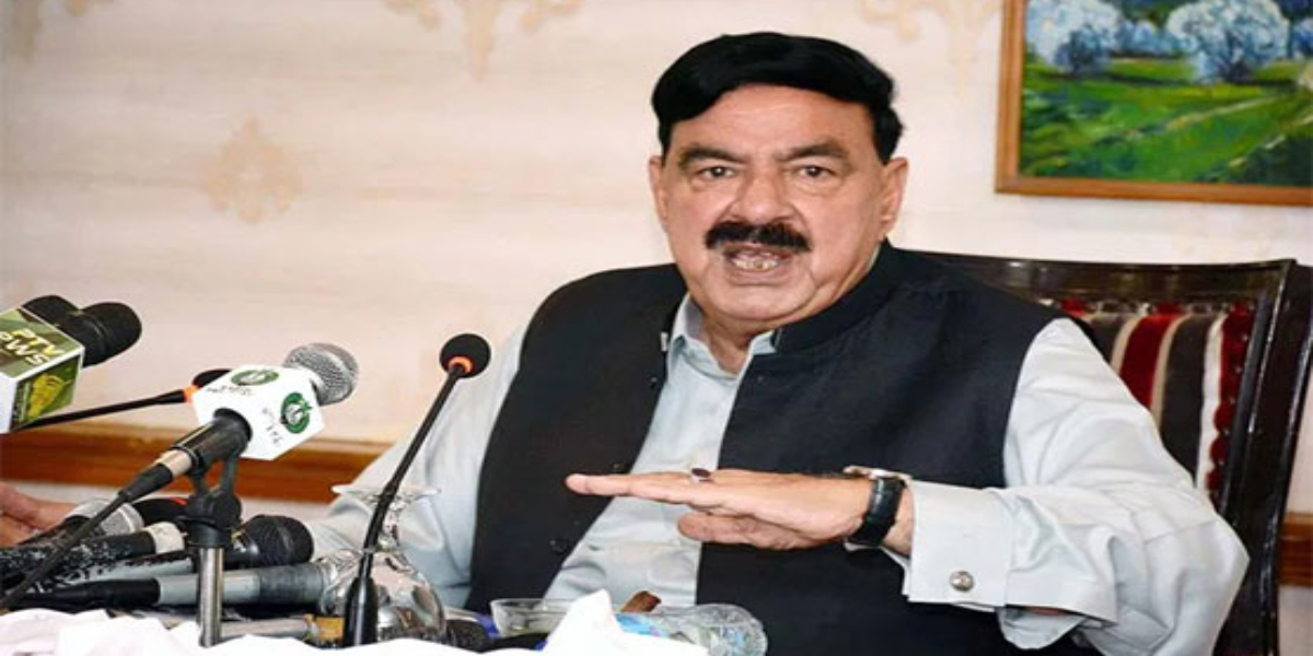 Sheikh Rasheed condemns allegation of drone attack in IOJK