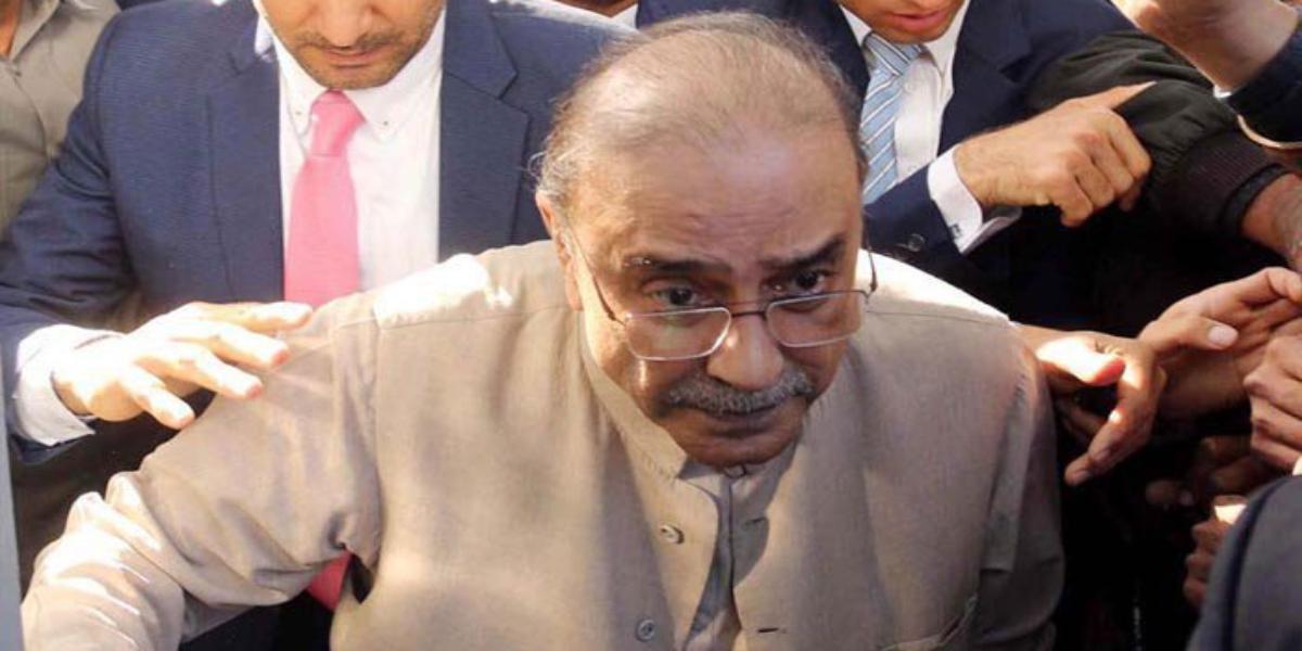 Zardari taken to hospital