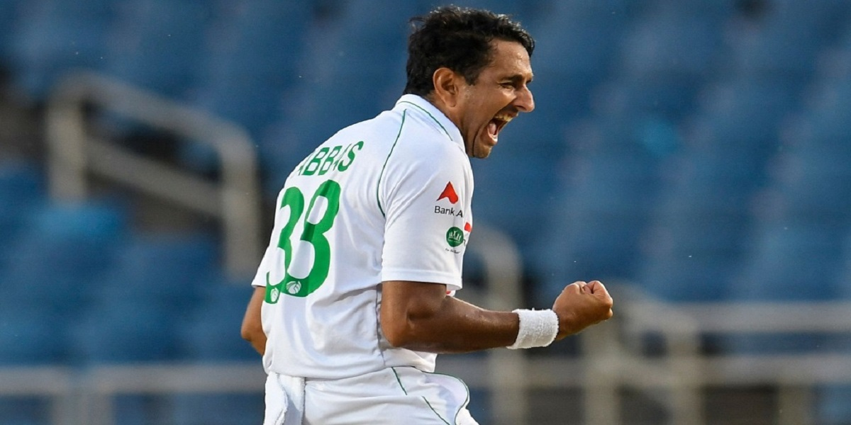 Pakistan vs West Indies: Abbas strike down two early wickets on day one