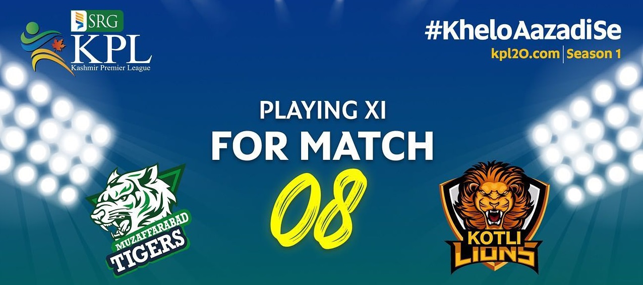 KPL 2021: Rawalakot Hawks Win The Match Against Muzaffarabad Tigers