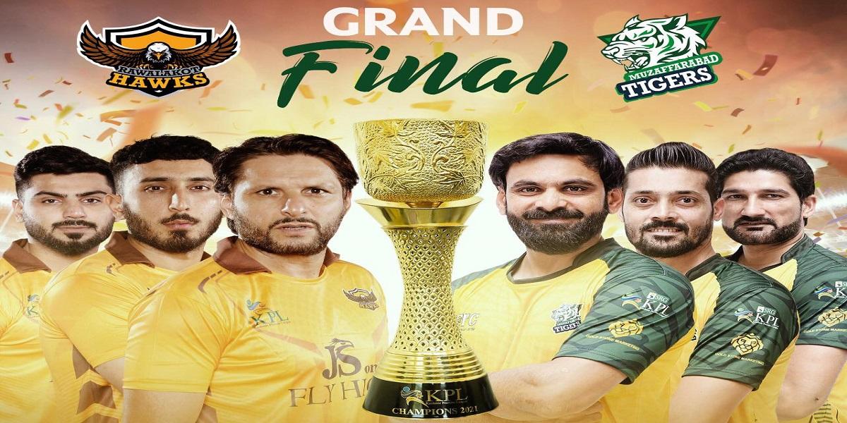 KPL 2021: Rawalakot Hawks win the final by 7 runs against Muzaffarabad Tigers