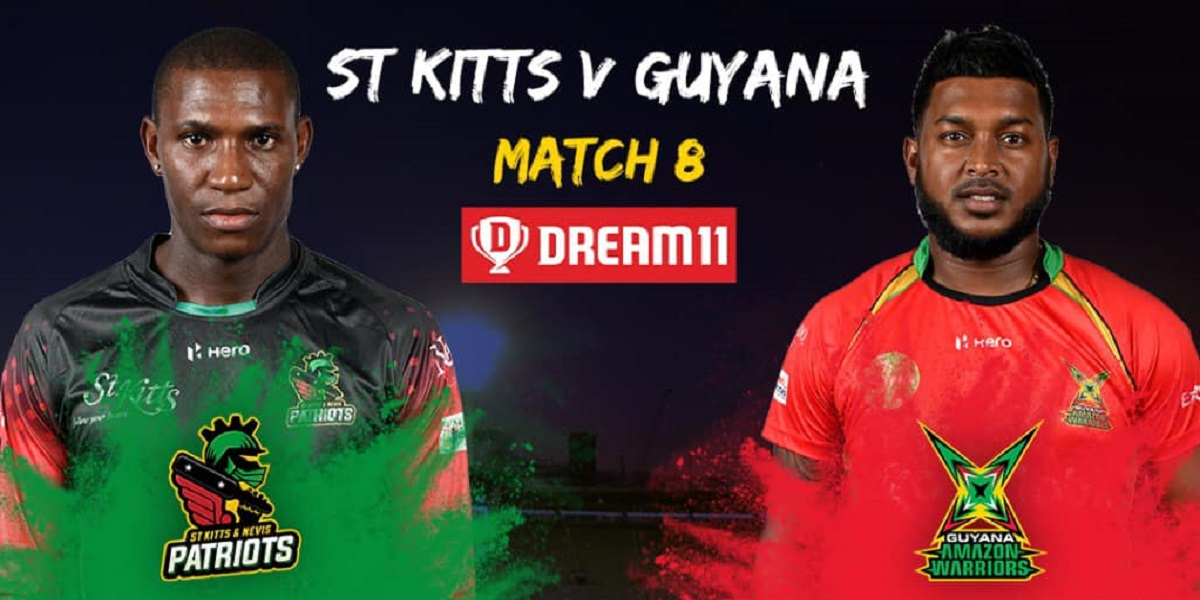 CPL 2021: St Kitts & Nevis Patriots win by 6 wickets against Guyana Amazon Warriors