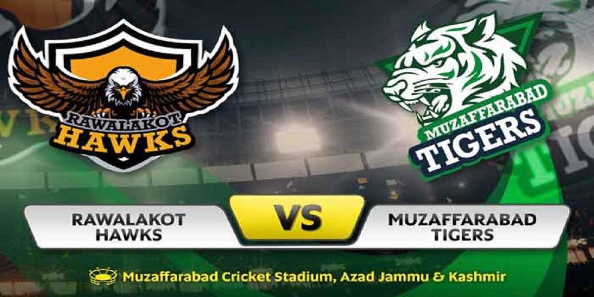 KPL 2021: Muzaffarabad Tigers Qualifies for Finals after 7-run win