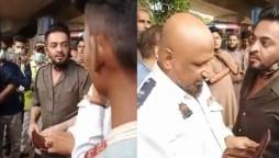 Aamir Liaquat Traffic Police Incident