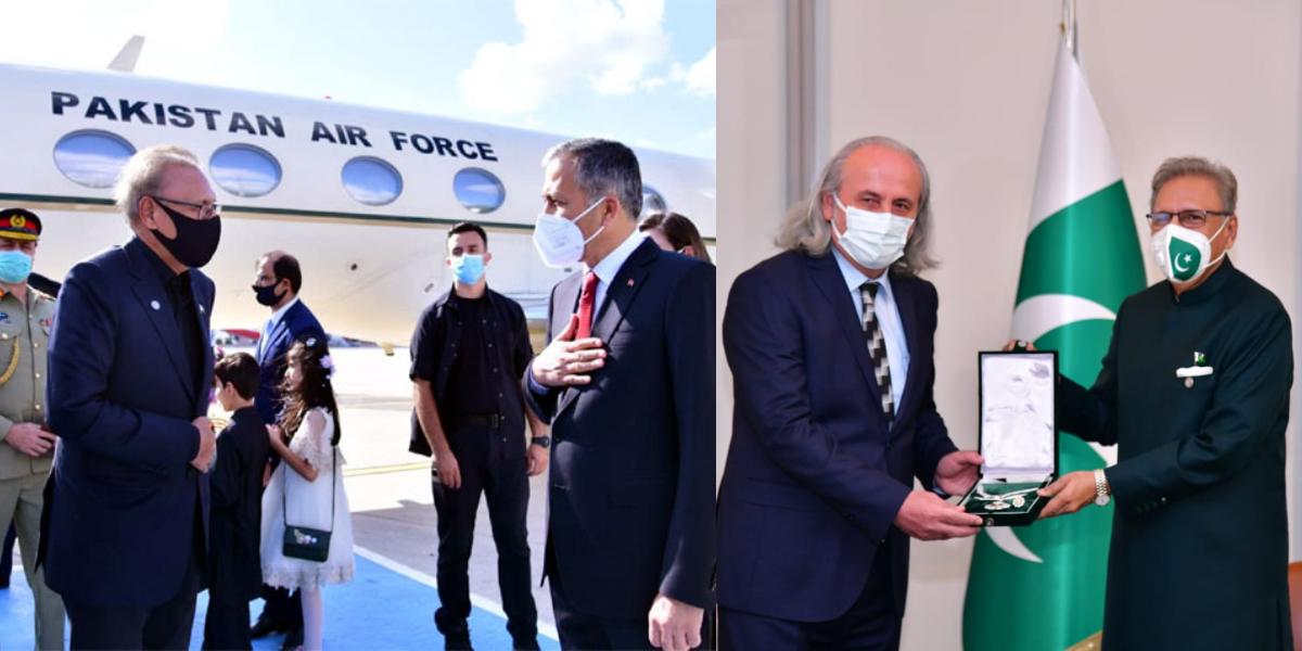 President Arif Alvi in Turkey
