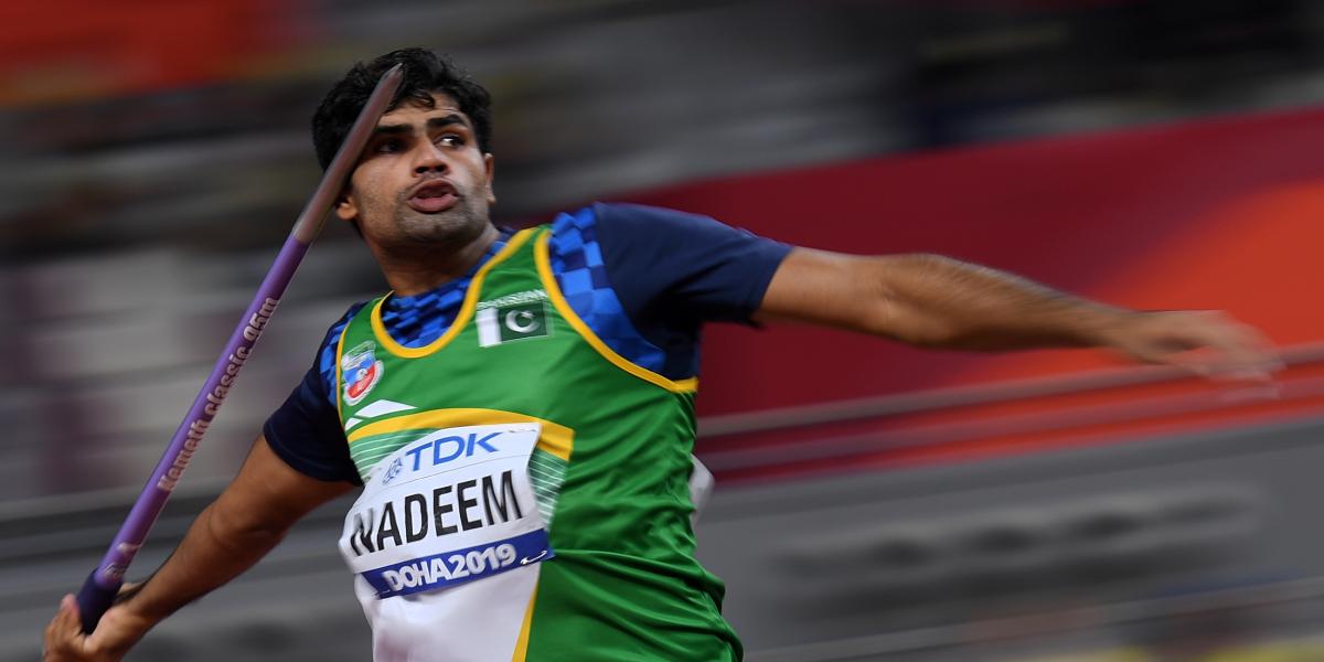 Arshad Nadeem Javelin Throw