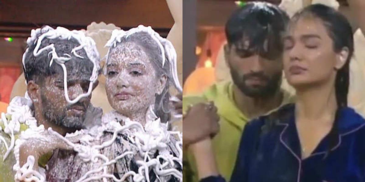Divya Agarwal and Zeeshan Khan