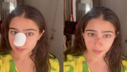 Sara Ali Khan nose