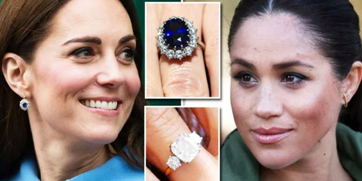 Meghan and Kate ring