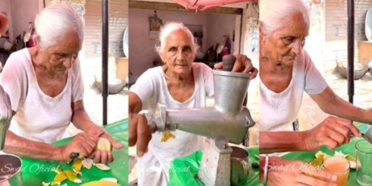 Amritsar Lady's Juice Stall