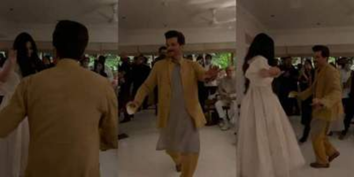Dance video of Anil Kapoor