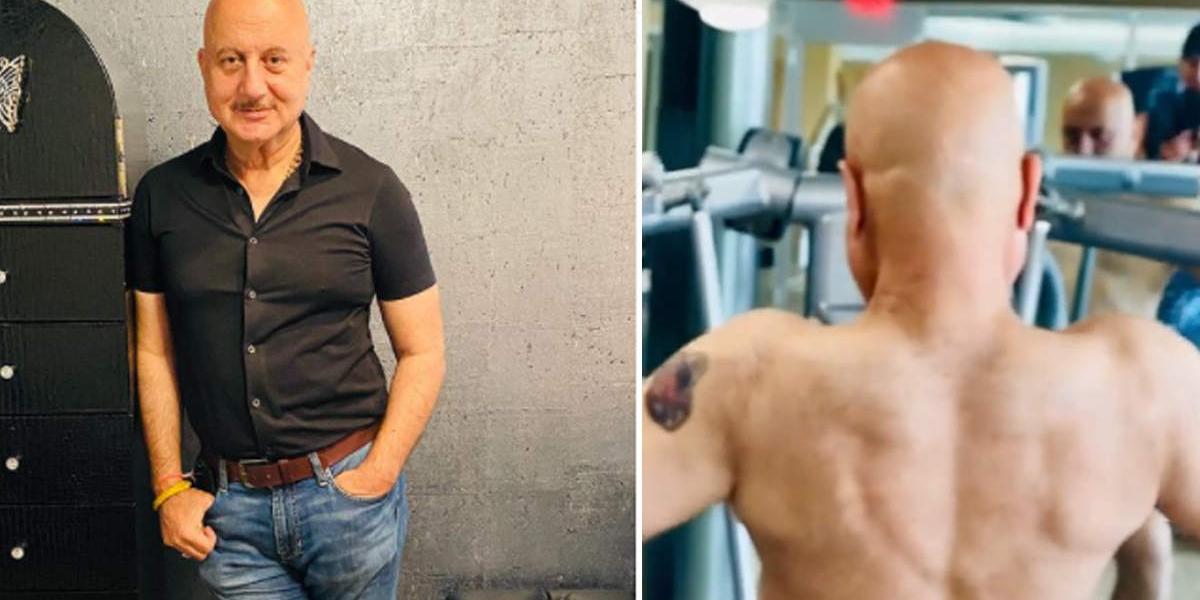 Anupam Kher's fitness workout