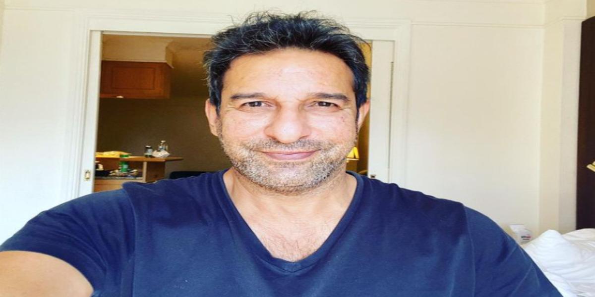 Wasim Akram mustache
