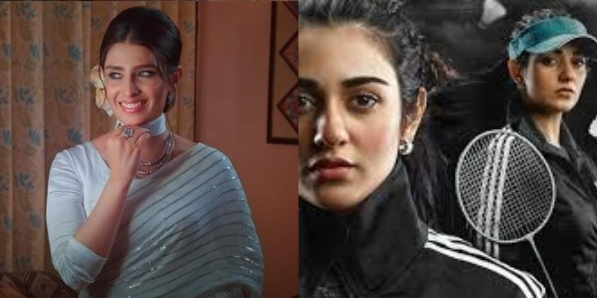 Ayeza Khan and Sarah Khan