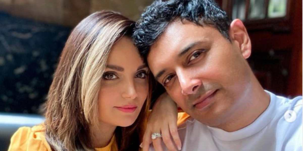 Armeena Khan celebrates wedding anniversary