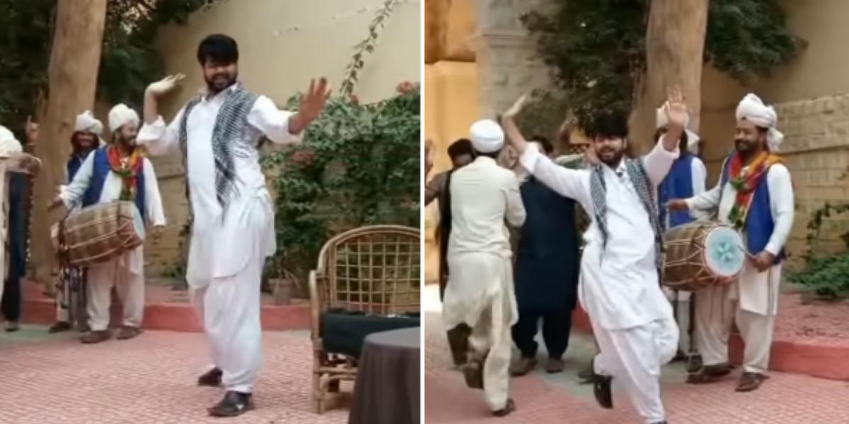 Imran Ashraf amazing dance
