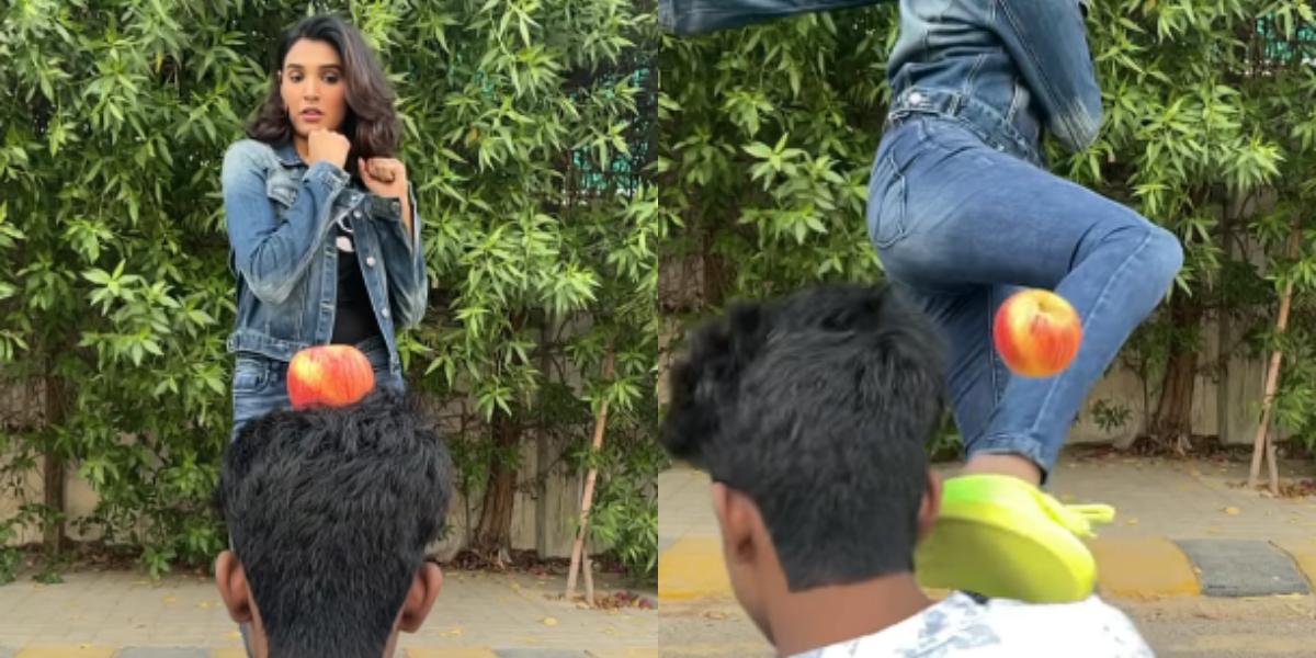Actress Amna Ilyas kick-off challenge