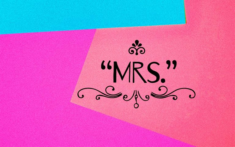 """Ever Wondered Why There's An """"R"""" In """"Mrs""""?"""