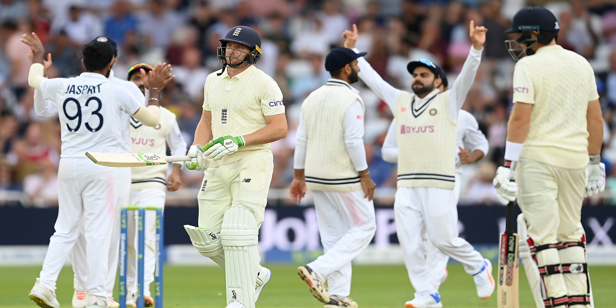 India Quick Tears Through England on Day One of First Test