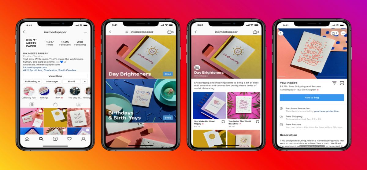Instagram introduces another useful feature testing ads on a shop tab