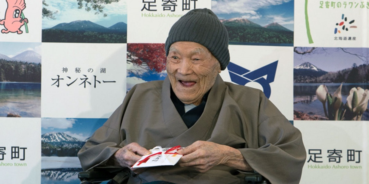 Masazo Nonaka, the world's oldest man dies at the age of 113
